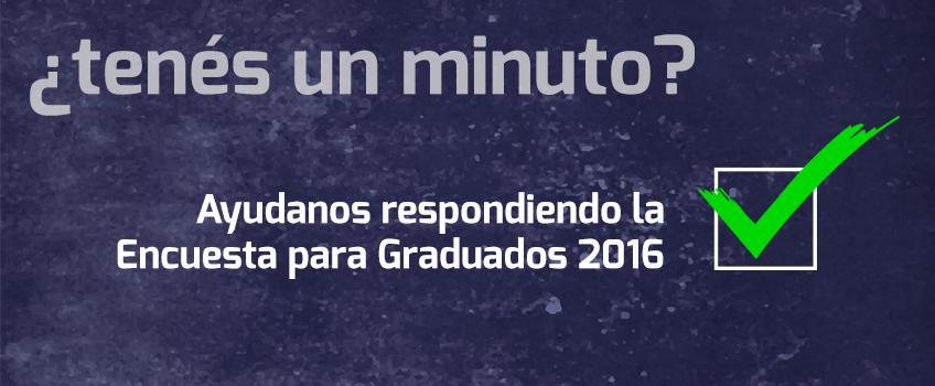 encuesta graduados