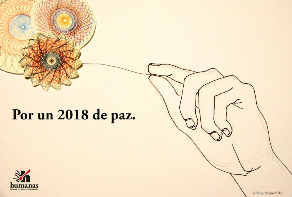por un 2018 de paz.